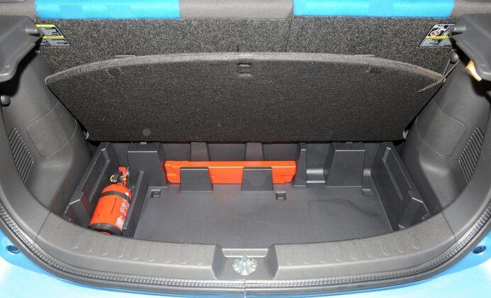 Opel Agila B bagażnik