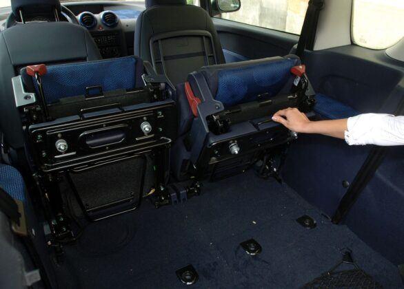 Peugeot 1007 bagażnik