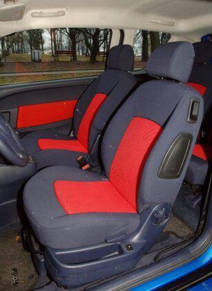 Peugeot 1007 fotel kierowcy