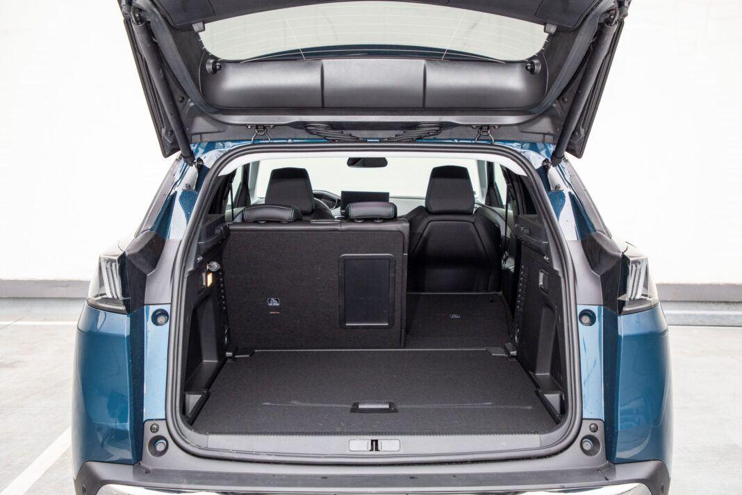 Peugeot 3008 - bagaznik