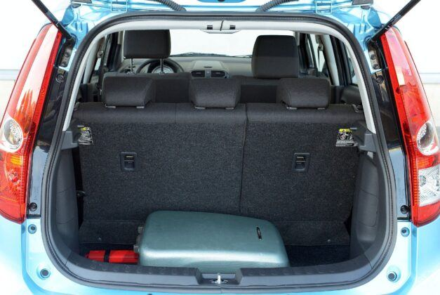Suzuki Splash bagażnik