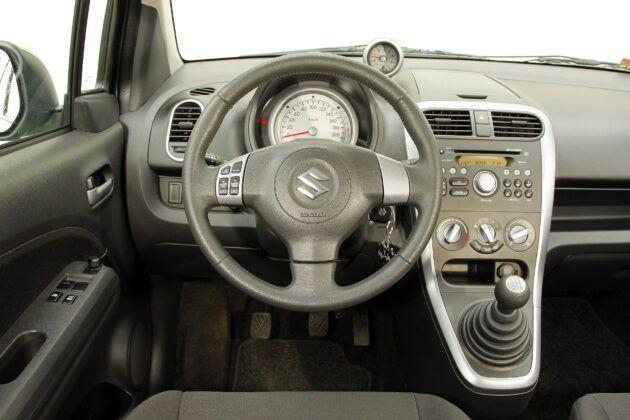 Suzuki Splash deska rozdzielcza