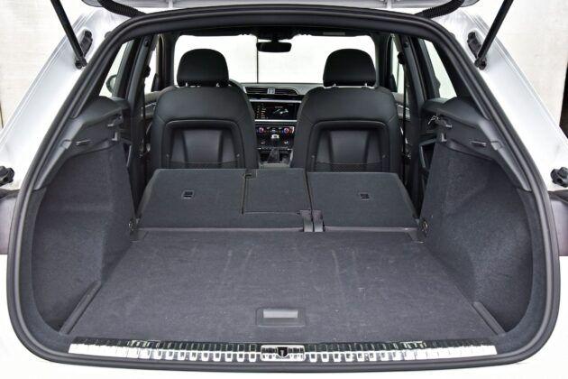 Audi Q3 - bagażnik
