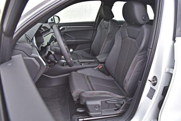 Audi Q3 - przednie fotele