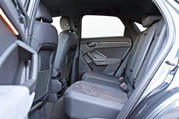 Audi Q3 Sportback - tylna kanapa
