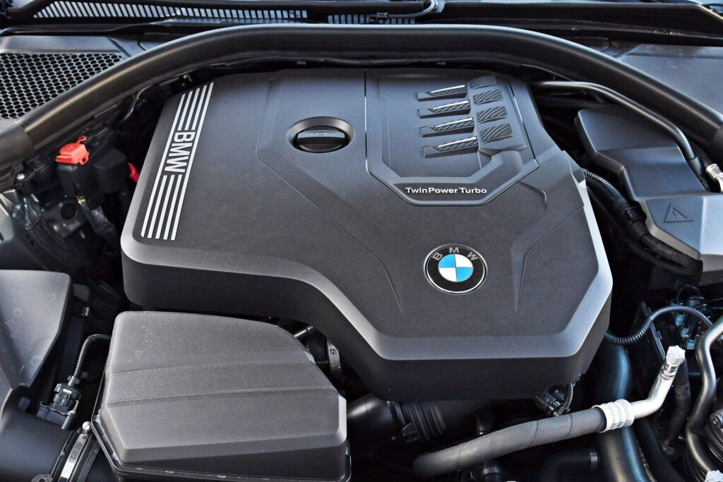BMW serii 3 Touring - silnik