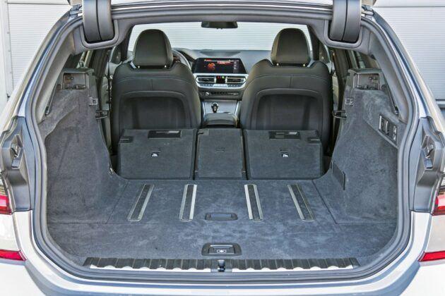 BMW serii 3 Touring - bagażnik