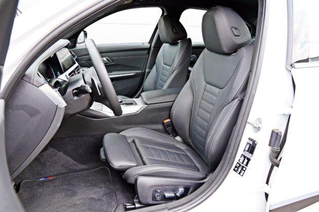 BMW serii 3 Limuzyna - fotele przednie