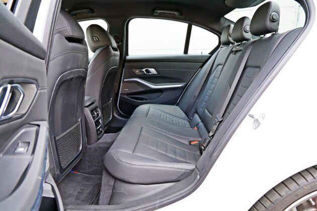 BMW serii 3 Limuzyna - tylna kanapa
