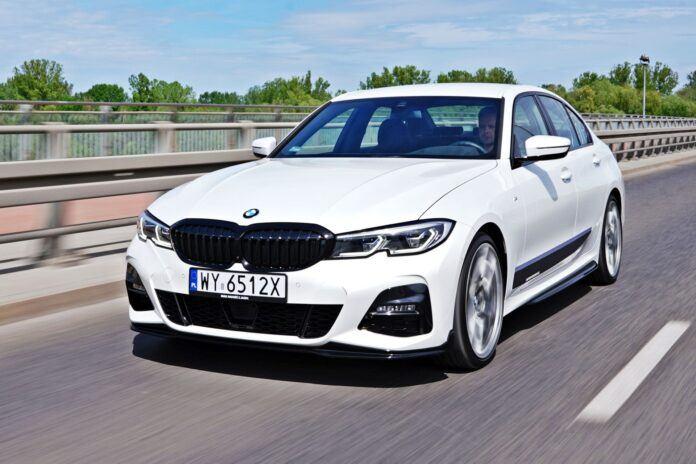 BMW serii 3 Limuzyna - przód
