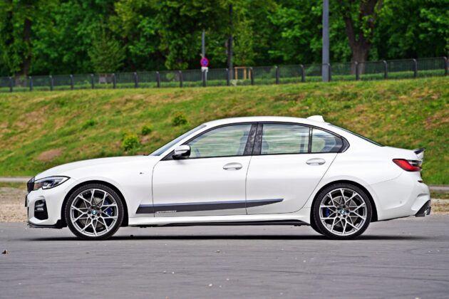 BMW serii 3 Limuzyna - bok