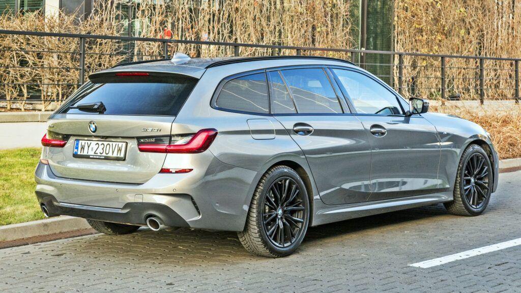 BMW serii 3 Touring - tył