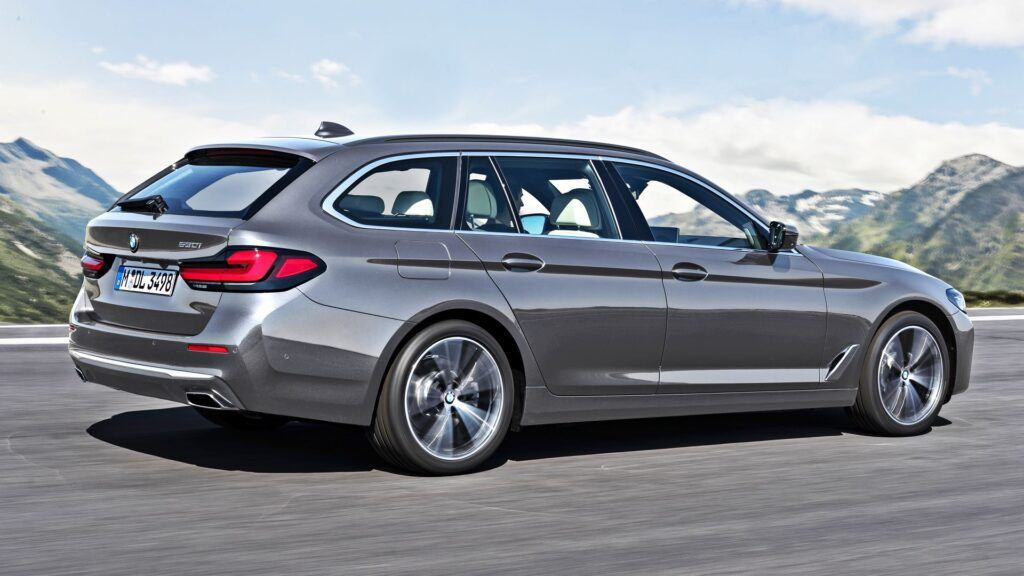 BMW serii 5 Touring - tył