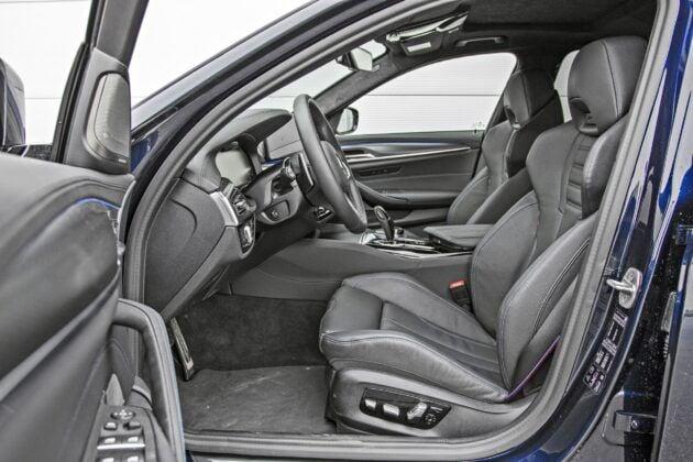 BMW serii 5 Limuzyna - fotele przednie