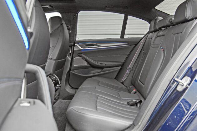 BMW serii 5 Limuzyna - tylna kanapa