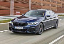BMW serii 5 Limuzyna - przód