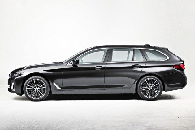 BMW serii 5 Touring - bok
