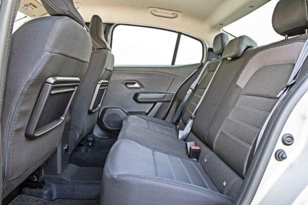 Dacia Logan - tylna kanapa
