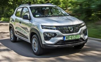 Dacia Spring - przód