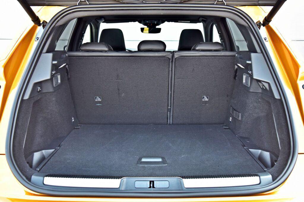 DS 7 Crossback - bagażnik