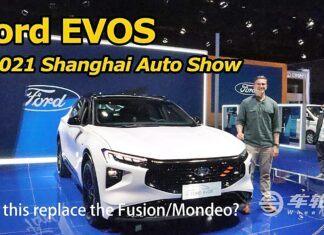 Ford Evos z bliska – poznaj następcę Mondeo