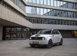 Elektryczna Honda e - galeria zdjęć