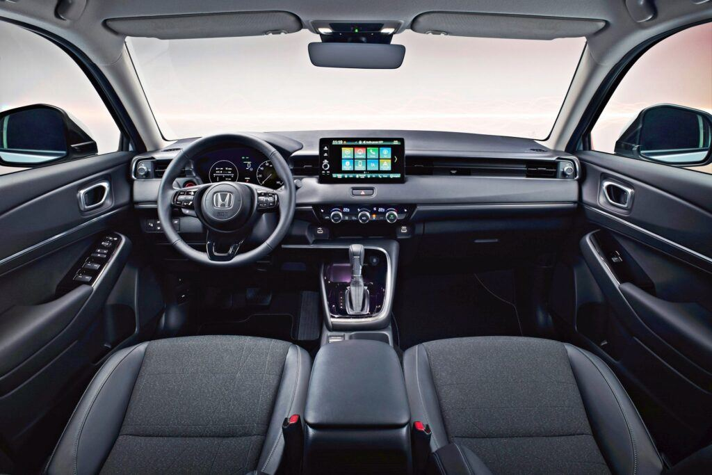 Honda HR-V - deska rozdzielcza