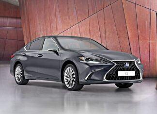 Nowy Lexus ES – oficjalne zdjęcia i informacje