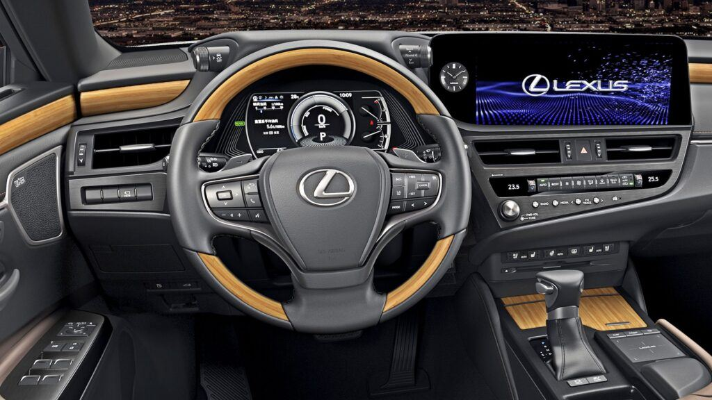 Lexus ES - wnętrze