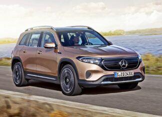 Nowy Mercedes EQB – oficjalne zdjęcia i informacje