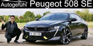 Peugeot 508 PSE - test