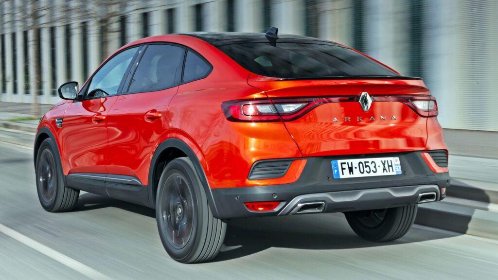 Renault Arkana - tył