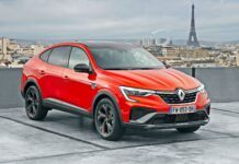 Renault Arkana - przód