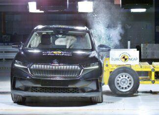 Wyniki testów Euro NCAP. Skoda Enyaq iV z pięcioma gwiazdkami