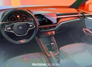 Nowa Skoda Fabia - pierwsze szczegóły wnętrza