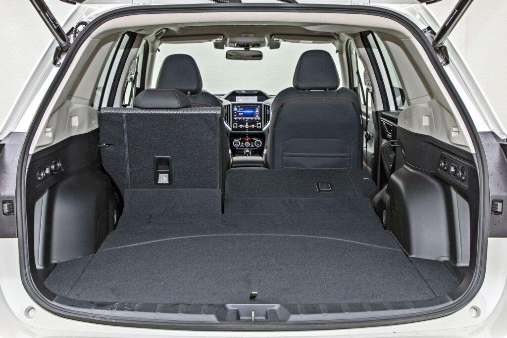 Subaru Forester - bagażnik