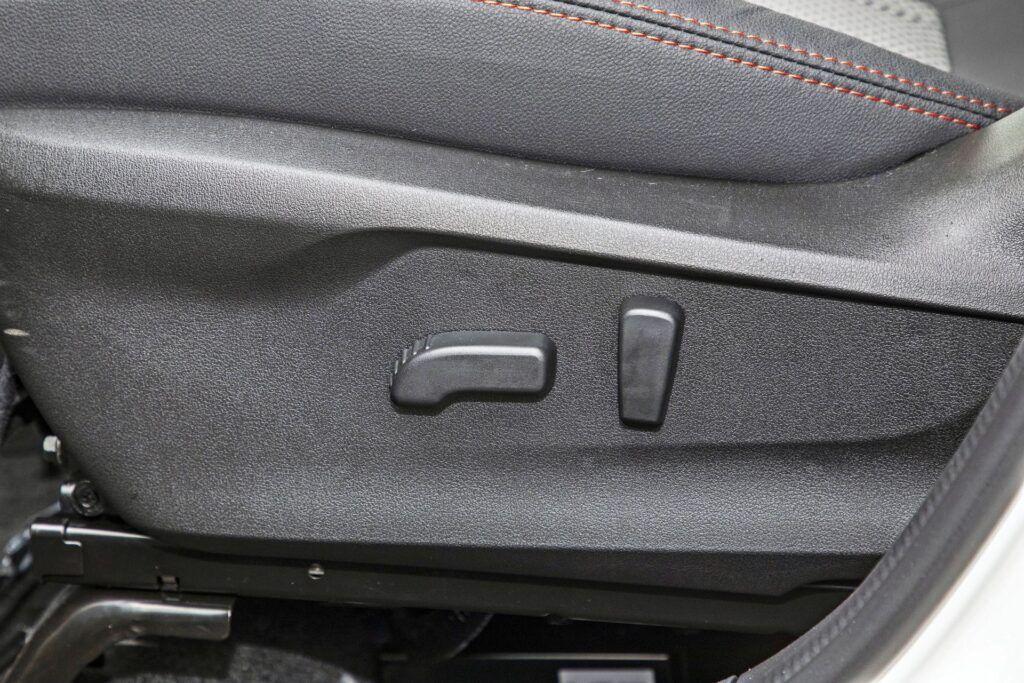 Subaru Forester - elektryczna regulacja fotela kierowcy