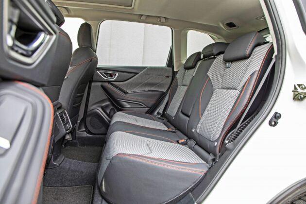 Subaru Forester - tylna kanapa