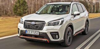 Subaru Forester - przód
