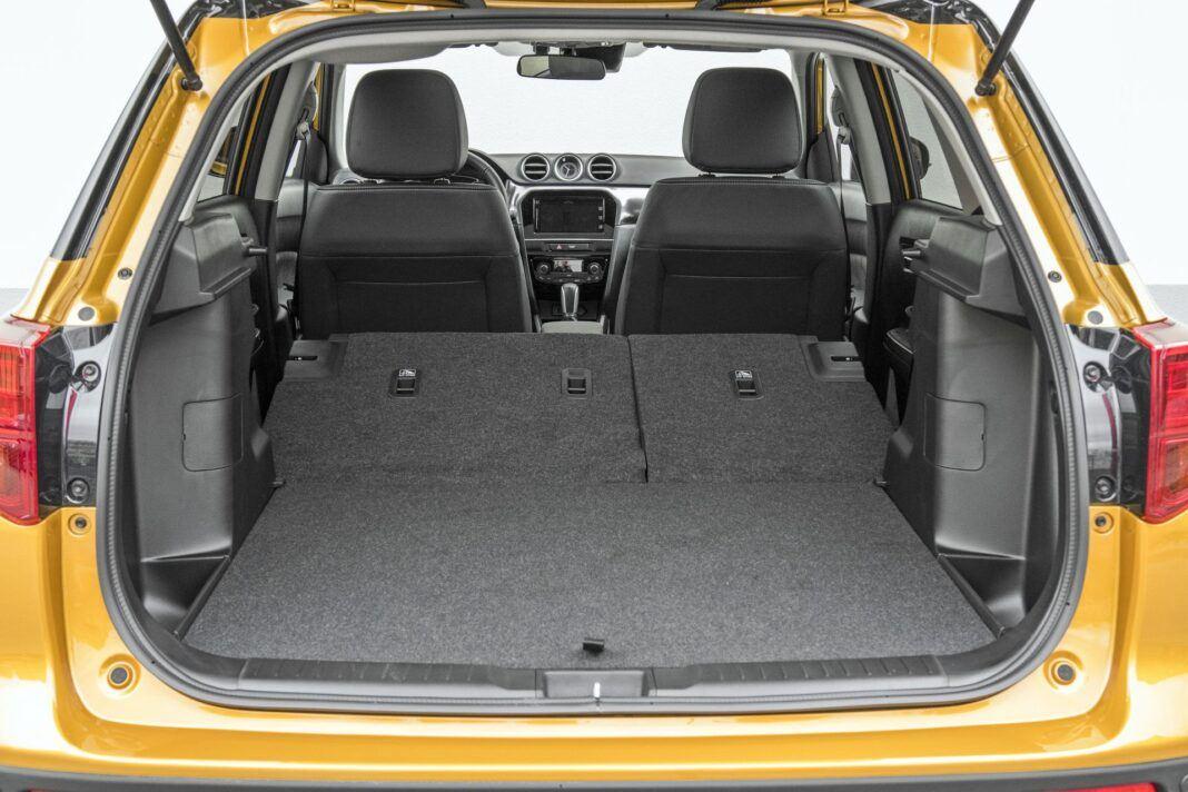 Suzuki Vitara - bagażnik