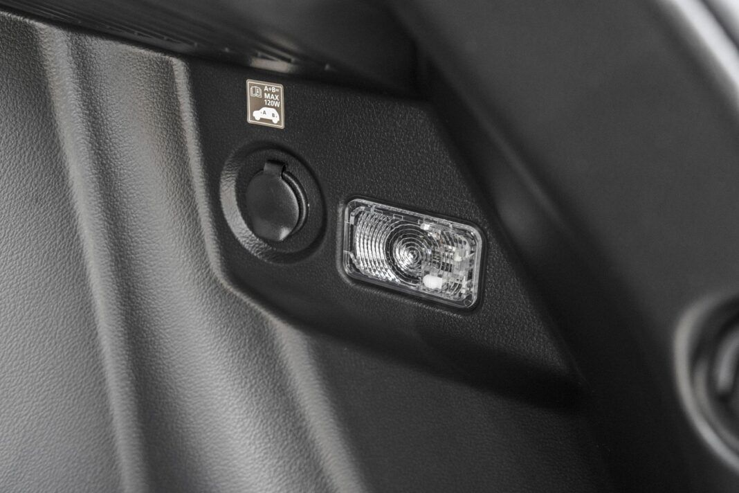 Suzuki Vitara - oświetlenie bagażnika