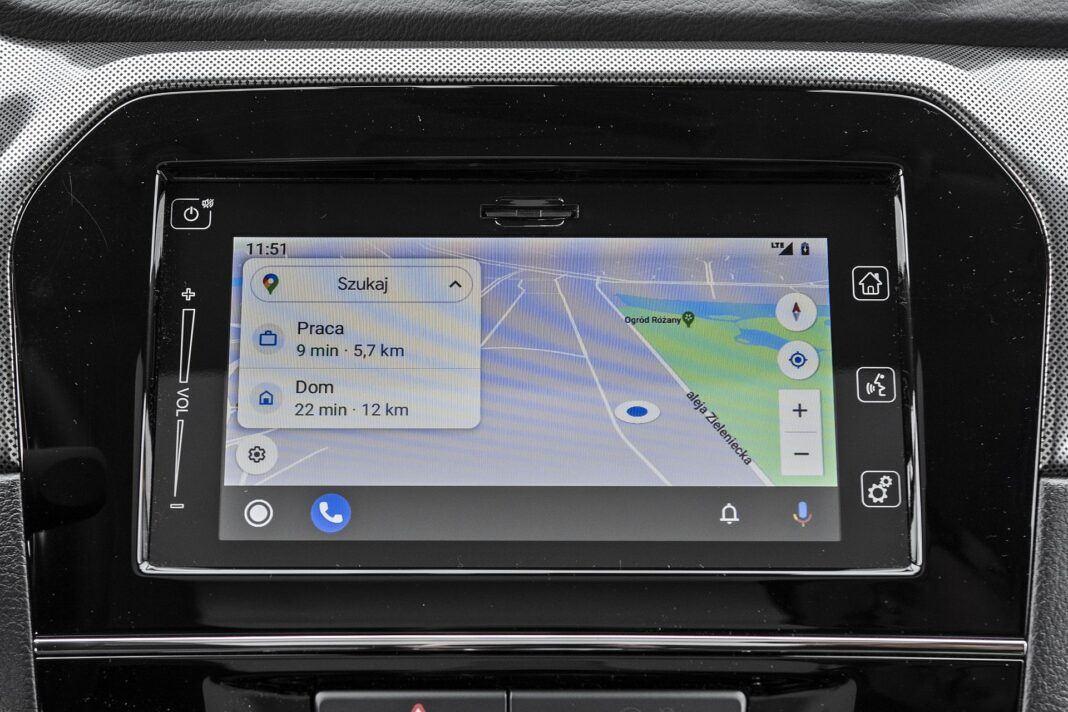 Suzuki Vitara - Android Auto