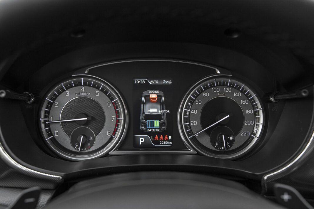 Suzuki Vitara - zestaw wskaźników