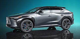 Toyota bZ4X Concept - przód