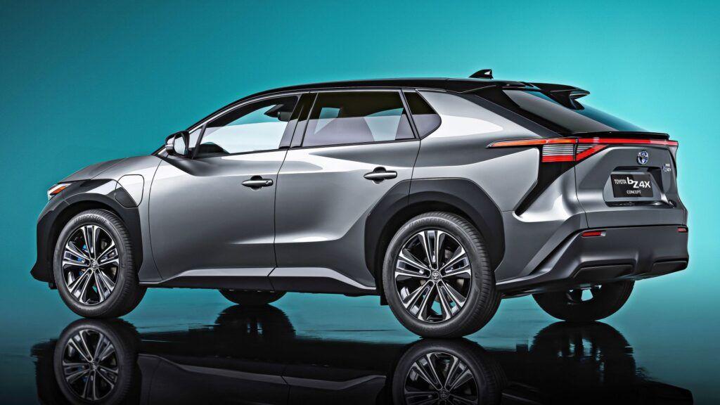Toyota bZ4X Concept - tył