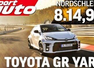 Toyota GR Yaris – test na torze Nurburgring