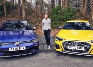 Nowy Volkswagen Golf R kontra Audi S3 – porównanie