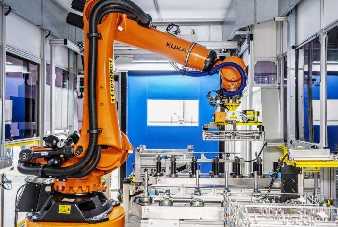 skoda automatyzacja produkcji inteligentny robot