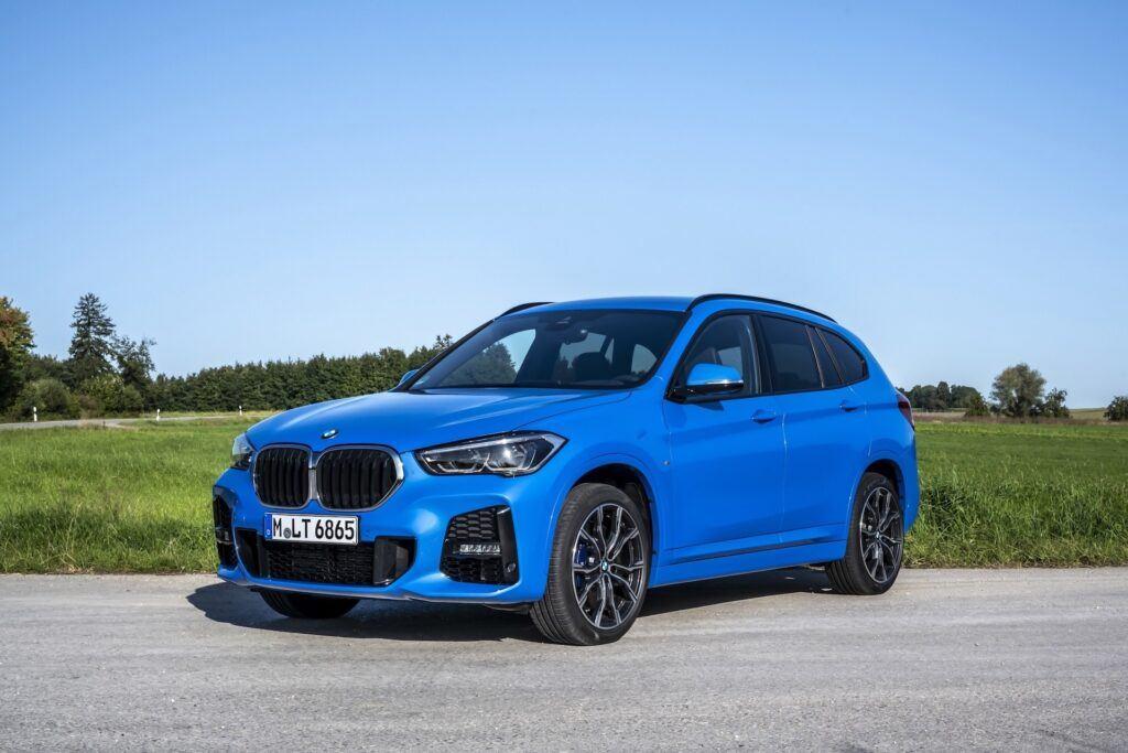 BMW X1 przód