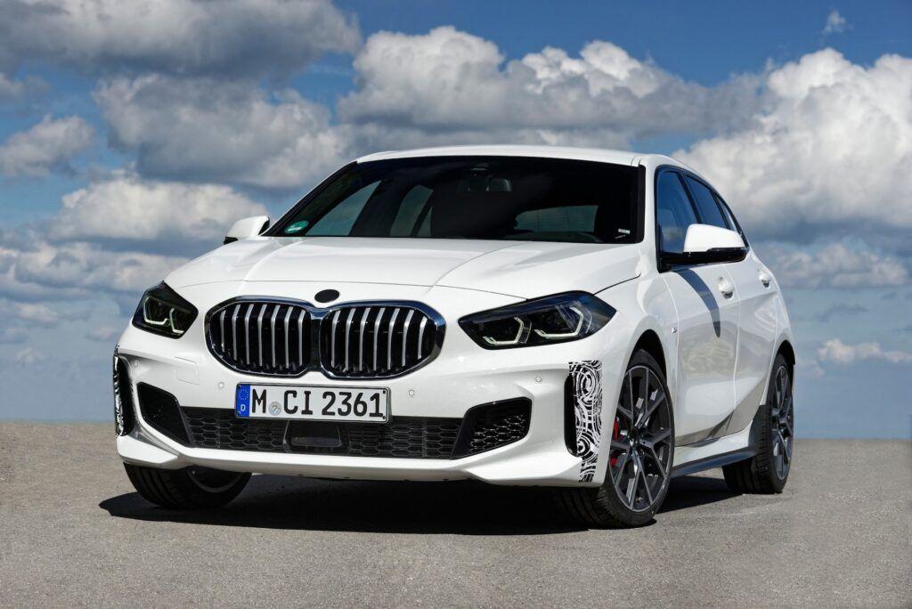 BMW seria 1 przód